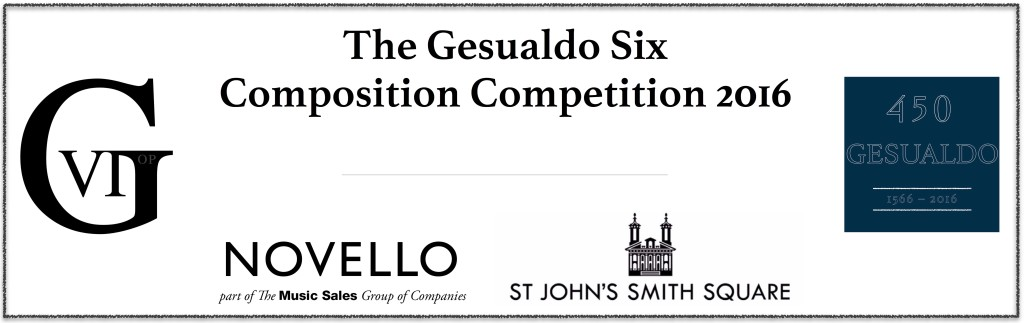 The Gesualdo Six Composition Competition 2016